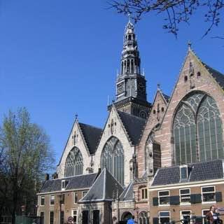 Oude Kerk, netherlands , utrecht