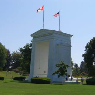 Peace Arch, canada , vancouver