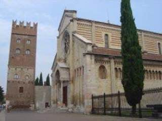 Basilica of San Zeno, Verona, italy , verona