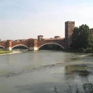 Castelvecchio Bridge, italy , verona