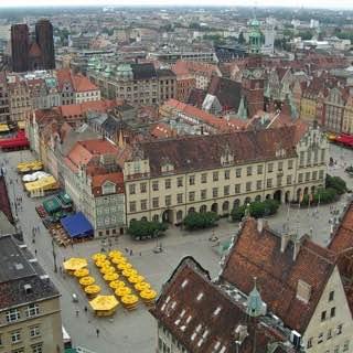 Market Square, Wrocław, poland , wroclaw