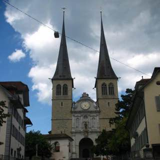 Church of St. Leodegar, switzerland , zurich