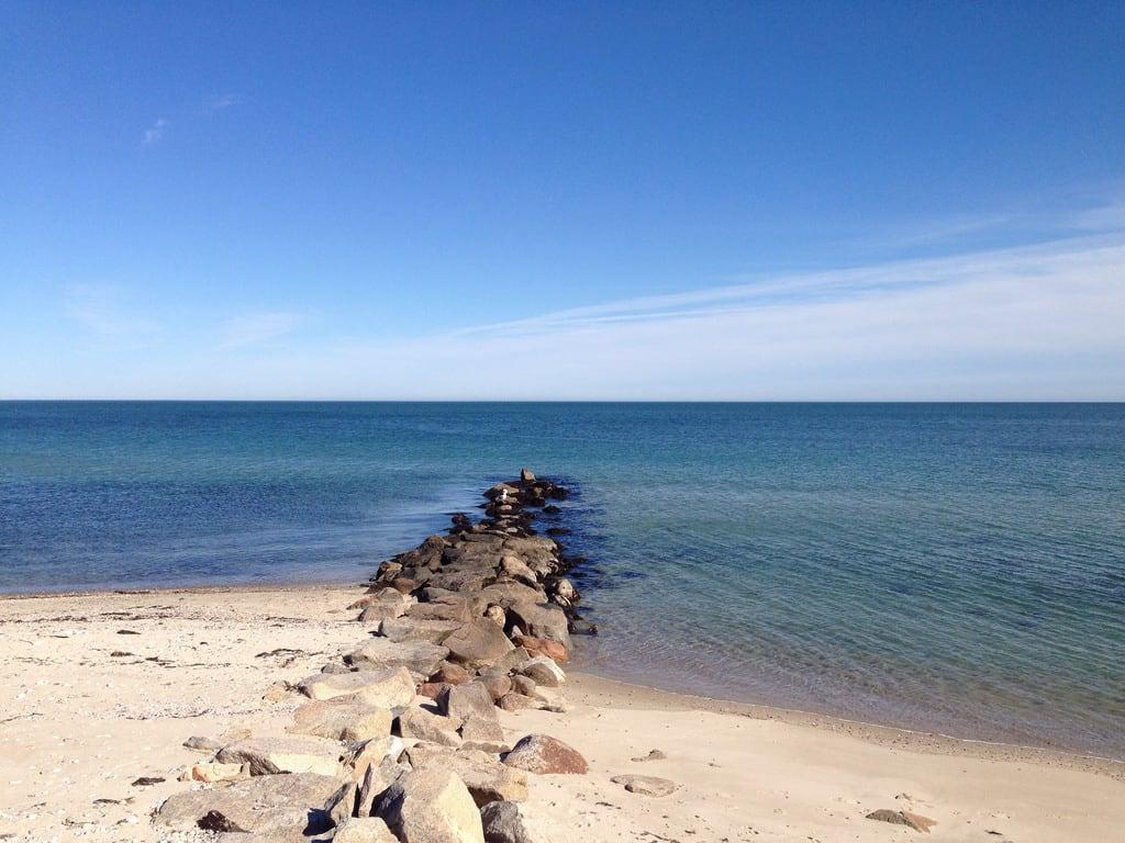 Bilde av Seaview Beach. massachusetts marthasvineyard oakbluffs