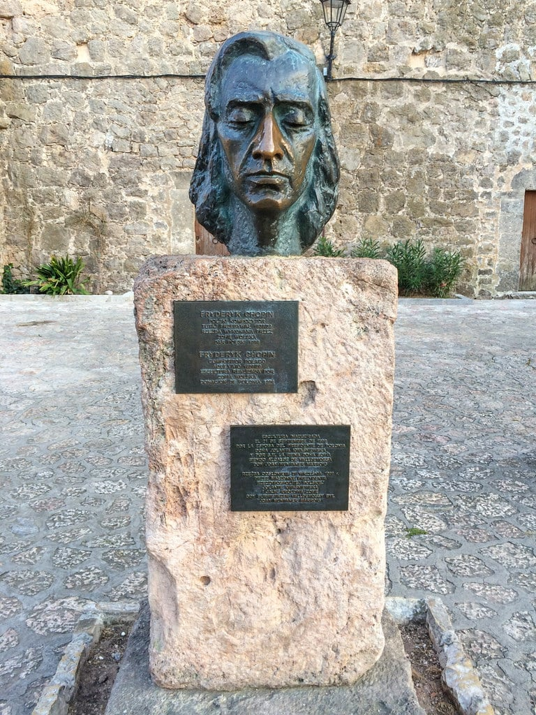 Зображення Frederic Chopin. spain europe espana mallorca majorca valldemossa balearicislands iphone5s fujifilmx20