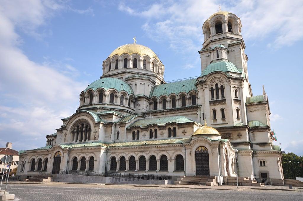 Obraz Alexander Nevsky Cathedral. day cloudy