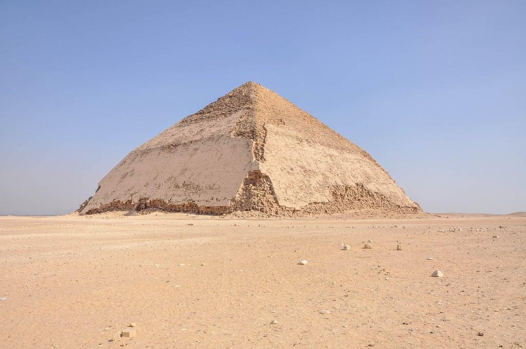 Obraz Piramida Łamana.