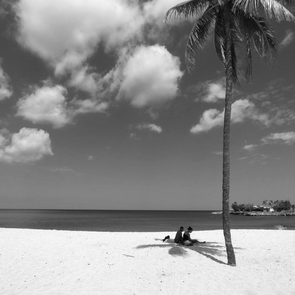 Immagine di Playa Bacuranao. clouds cuba palmtree caribbean playadeleste therubyawardsinvitation