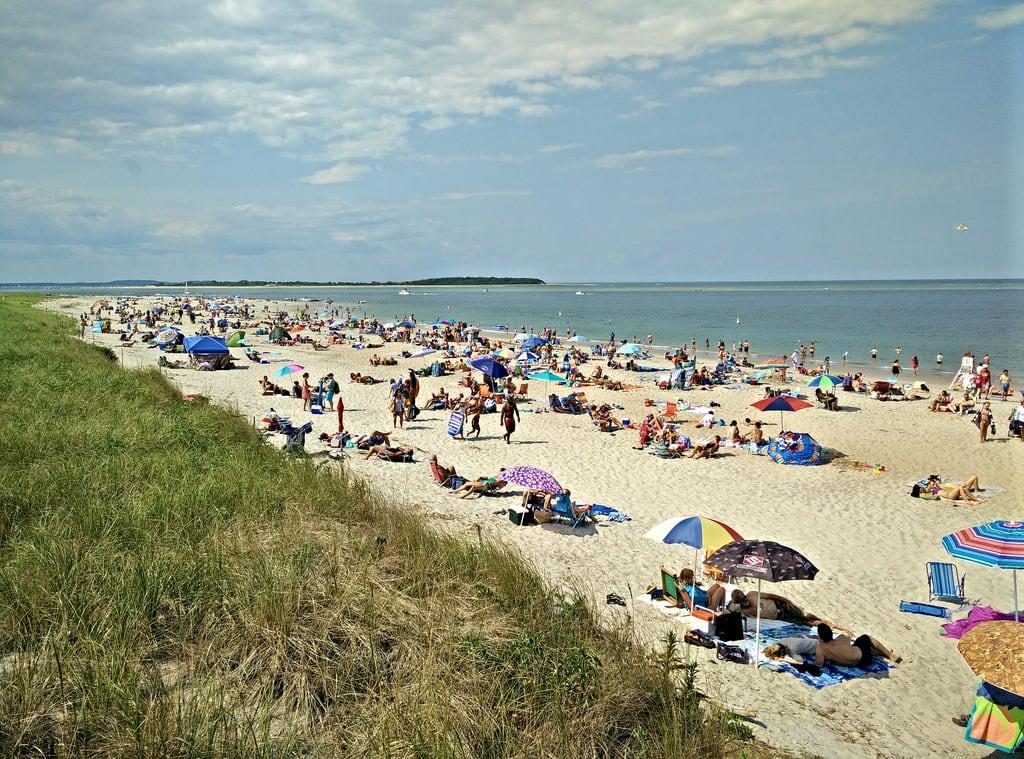 Bilde av Crane Beach.