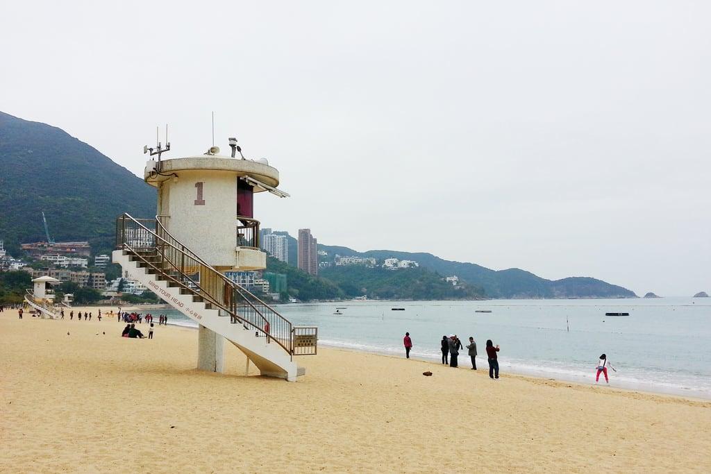 Billede af Repulse Bay Beach (淺水灣泳灘) Repulse Bay Beach. lifeguardtower repulsebaybeach