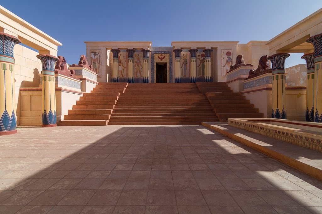 Obraz Atlas Studios. maroc ouarzazate astérixetobélixmissioncléopâtre ucpaoasisdudades studioscinémaatlas