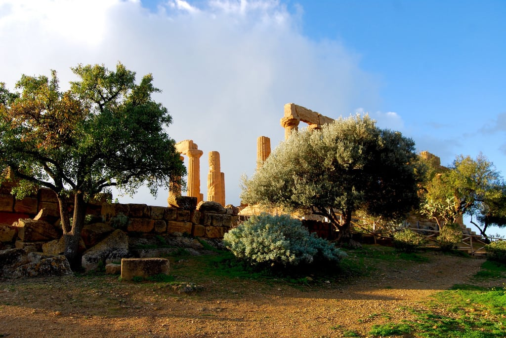 Image of Valley of the Temples. italy europe sicily greektemple agrigentum