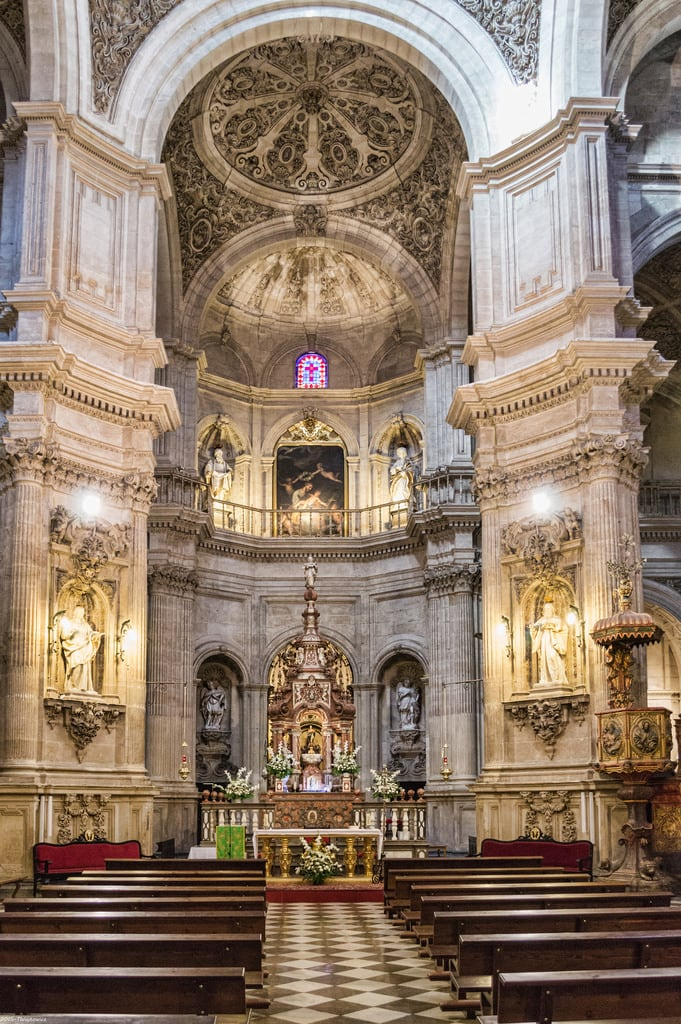 Attēls no Iglesia del Sagrario. church vacances spain iglesia andalucia chiesa cathédrale granada espagne eglise andalousie 2015