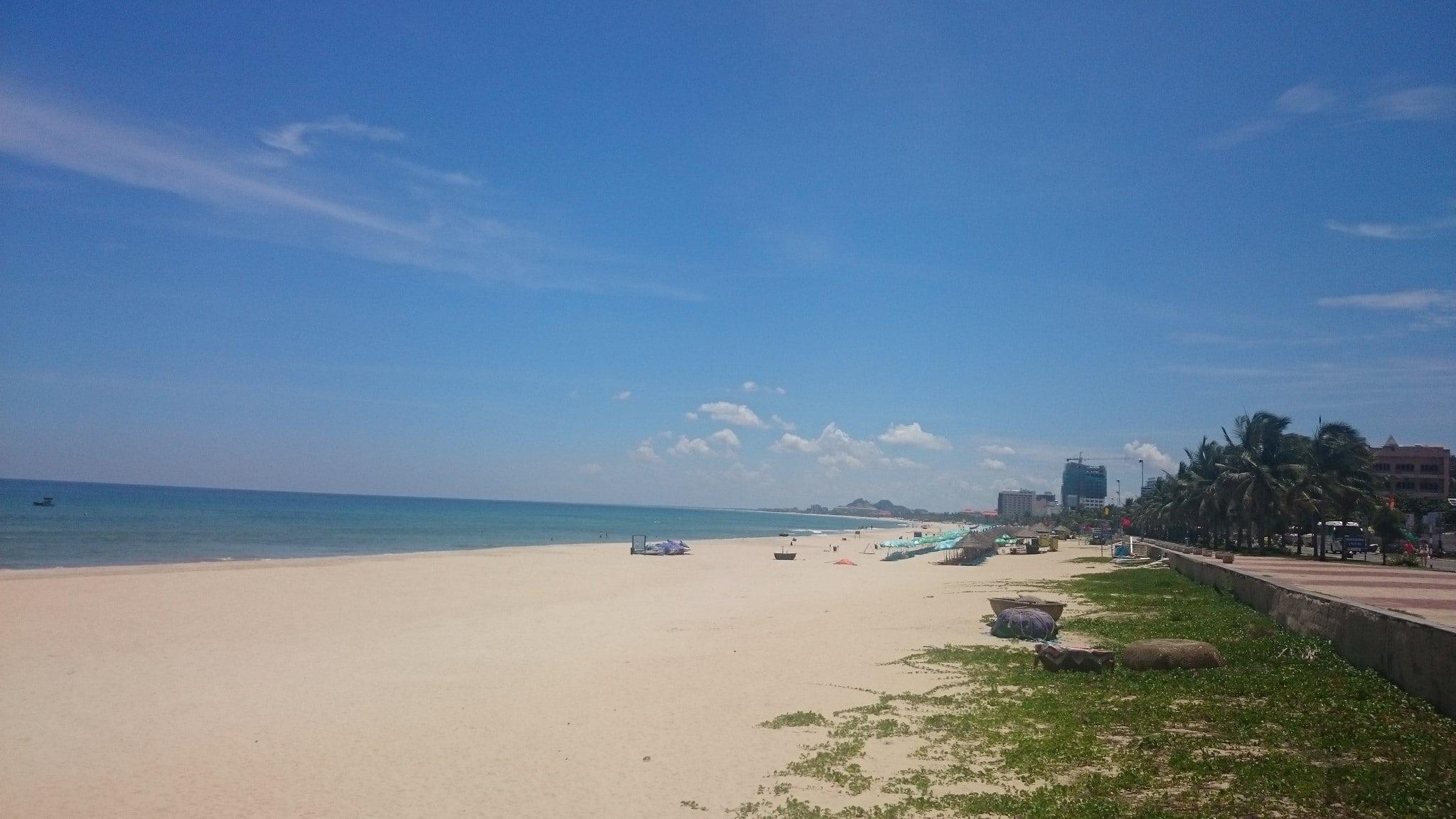 Obrázek Dana Beach Pláž s délkou 7580 metrů.