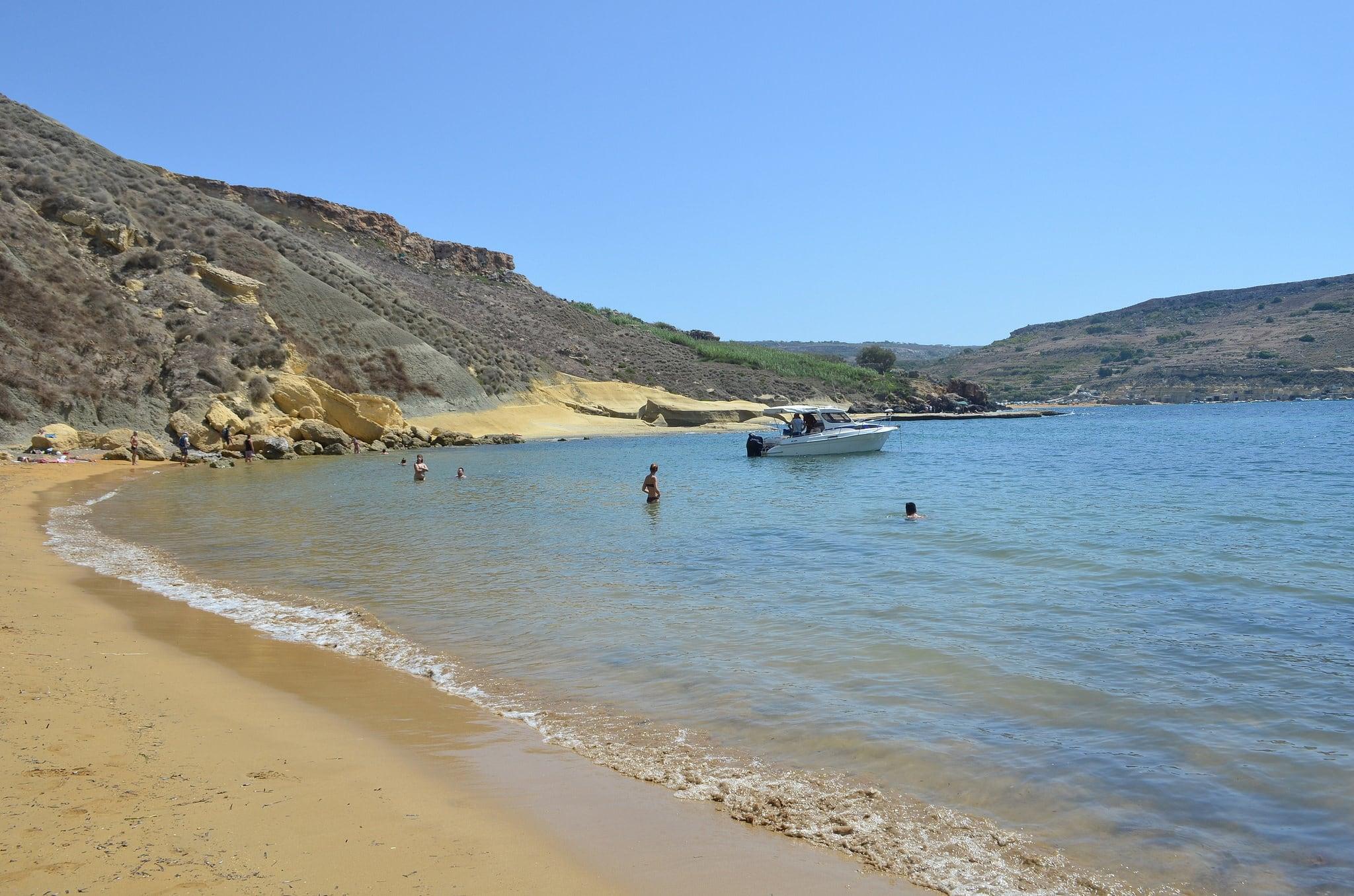 Attēls no Għajn Tuffieħa. mer malta malte baie paradisebay méditérannée crique baymalta baieduparadis paradisemalta