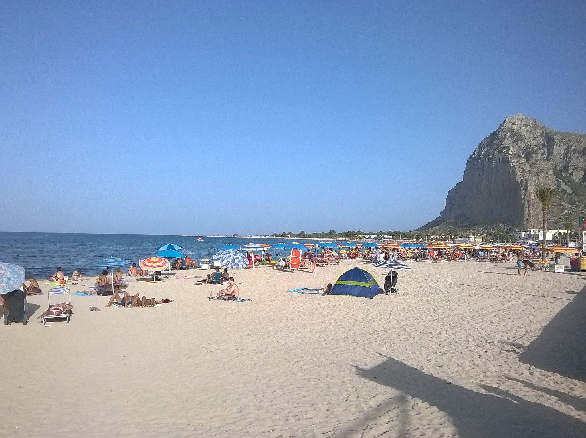 Spiaggia di San Vito Lo Capo 的形象.