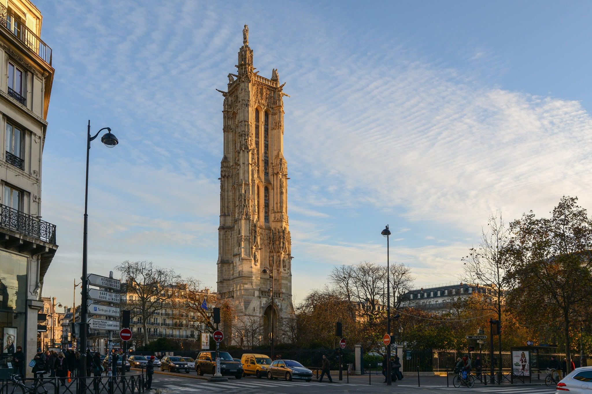 Tour Saint-Jacques 的形象.