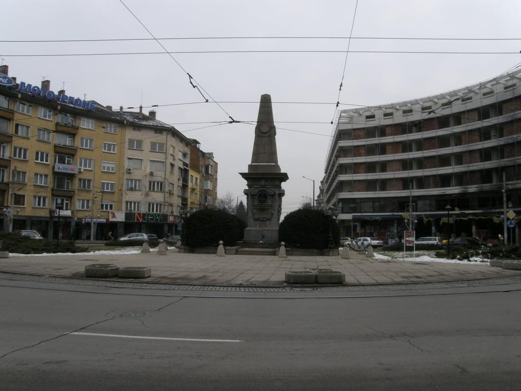 Obraz Vasil Levski. sofia bulgaria 27122007