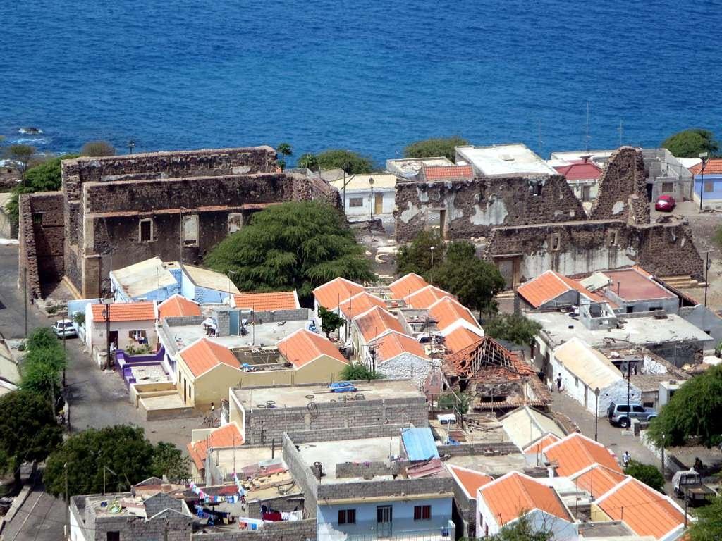 Bild av Sé Catedral. santiago cidade verde island grande velha cape ribeira