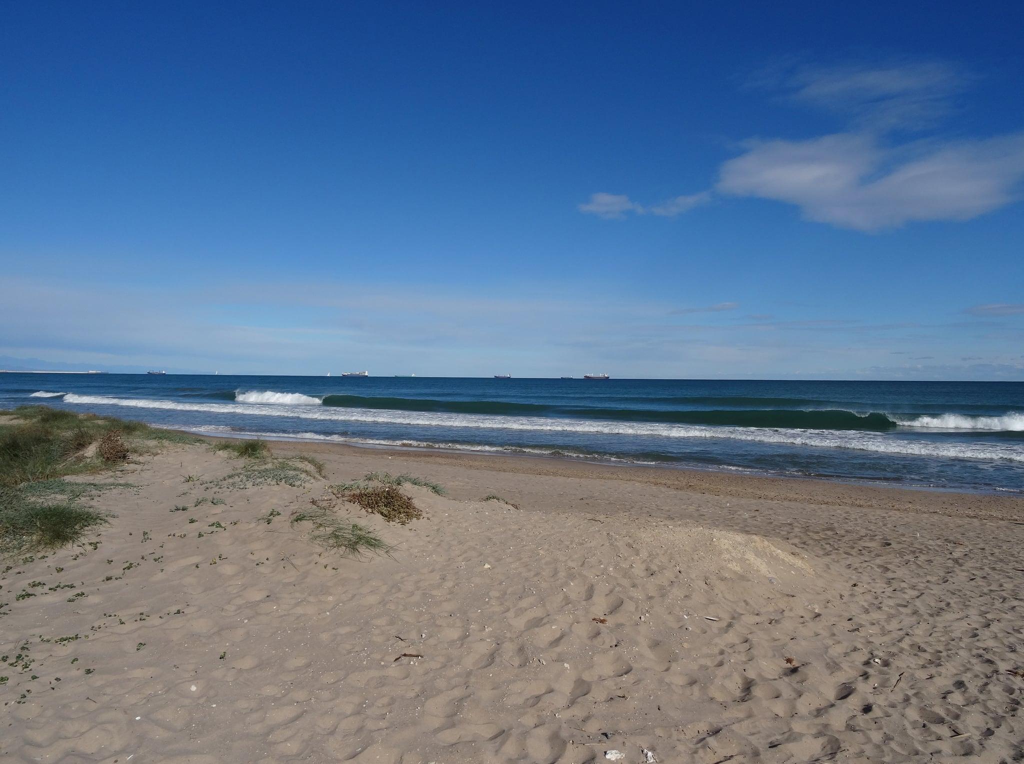Image of Platja d'El Saler. 2015 herfst spain espana españa spanje el saler beach playa strand seaside zee autumn