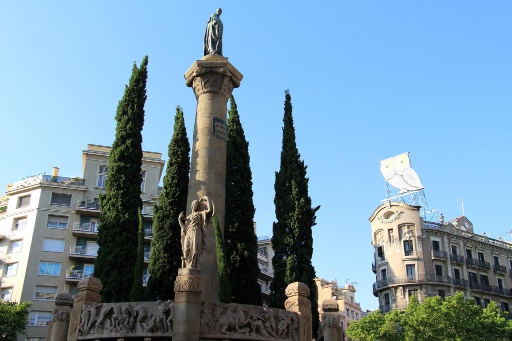 Obrázek Monument a Mossèn Jacint Verdaguer u Gràcia. barcelona barcelone barcellona catalunya cataluña catalonia catalogne katalánsko catalonien katalonien catalogna catalonië katalonia catalunha espagne spain španělsko spanien españa spagna spanje spania hiszpania espanha june2017 architecture