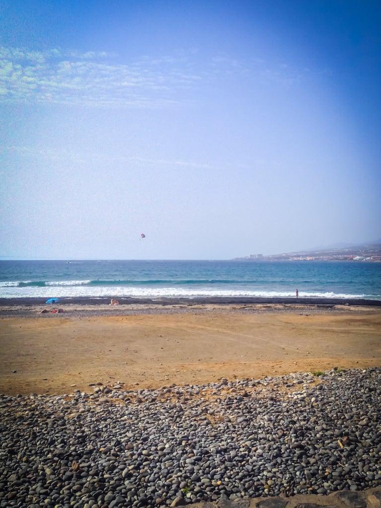 Playa de las Américas görüntü. vacation tenerife