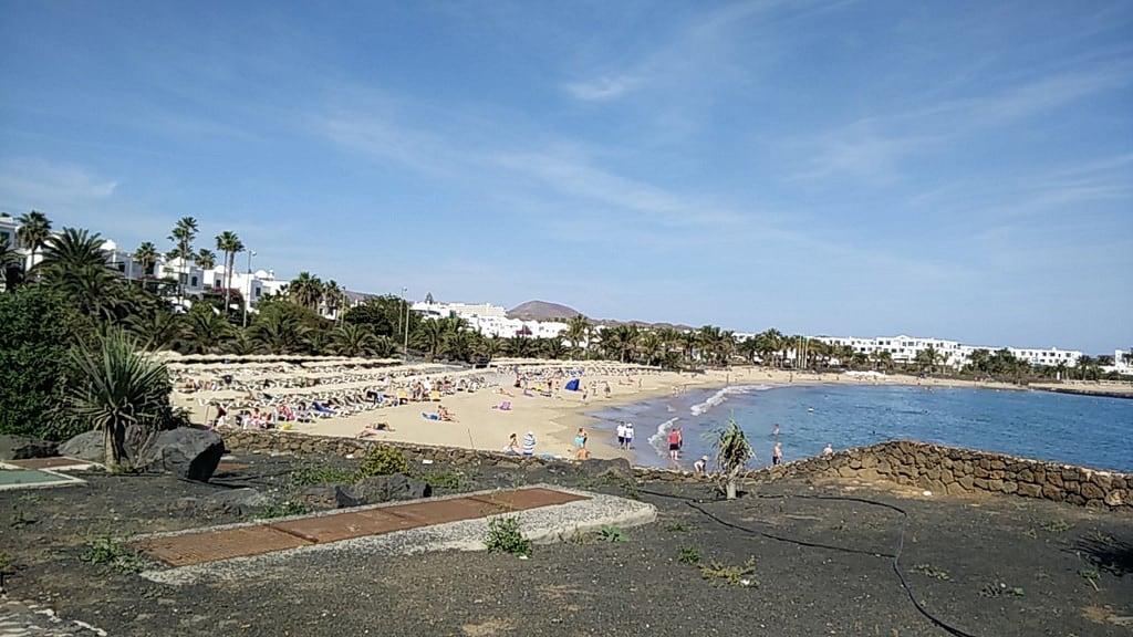 Afbeelding van Playa de las Cucharas. lanzarote 2016 costateguise