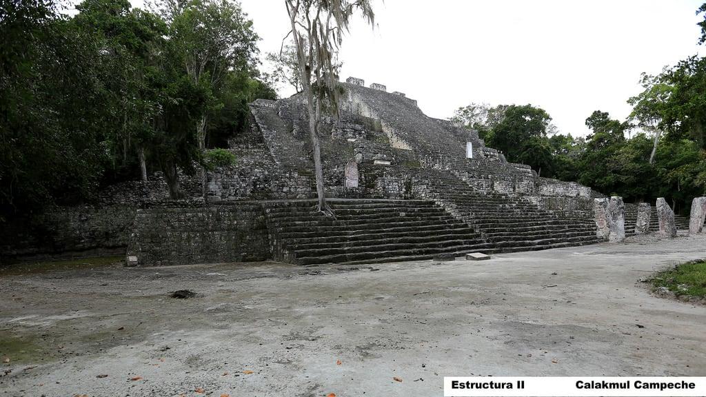 Imagine de Calakmul. méxico mexico campeche calakmul estructuraii