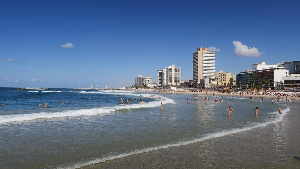 תמונה של Bograshov Beach (חוף בוגרשוב) Banana Beach. telaviv israel mediterranean