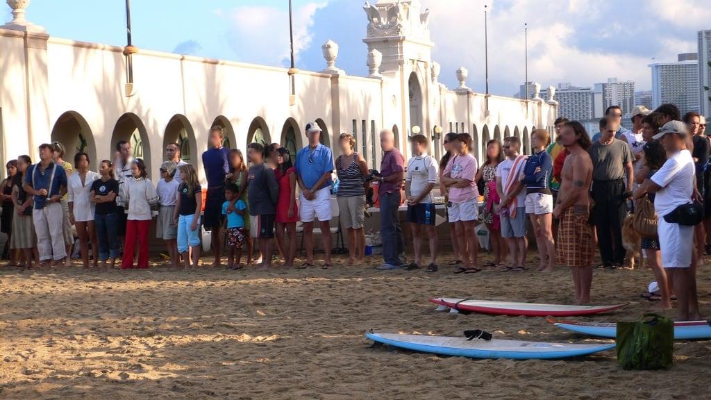 Bild av Kaimana beach nära Honolulu. ocean usa beach hawaii memorial pacific oahu goes appletv serggio jaimansson