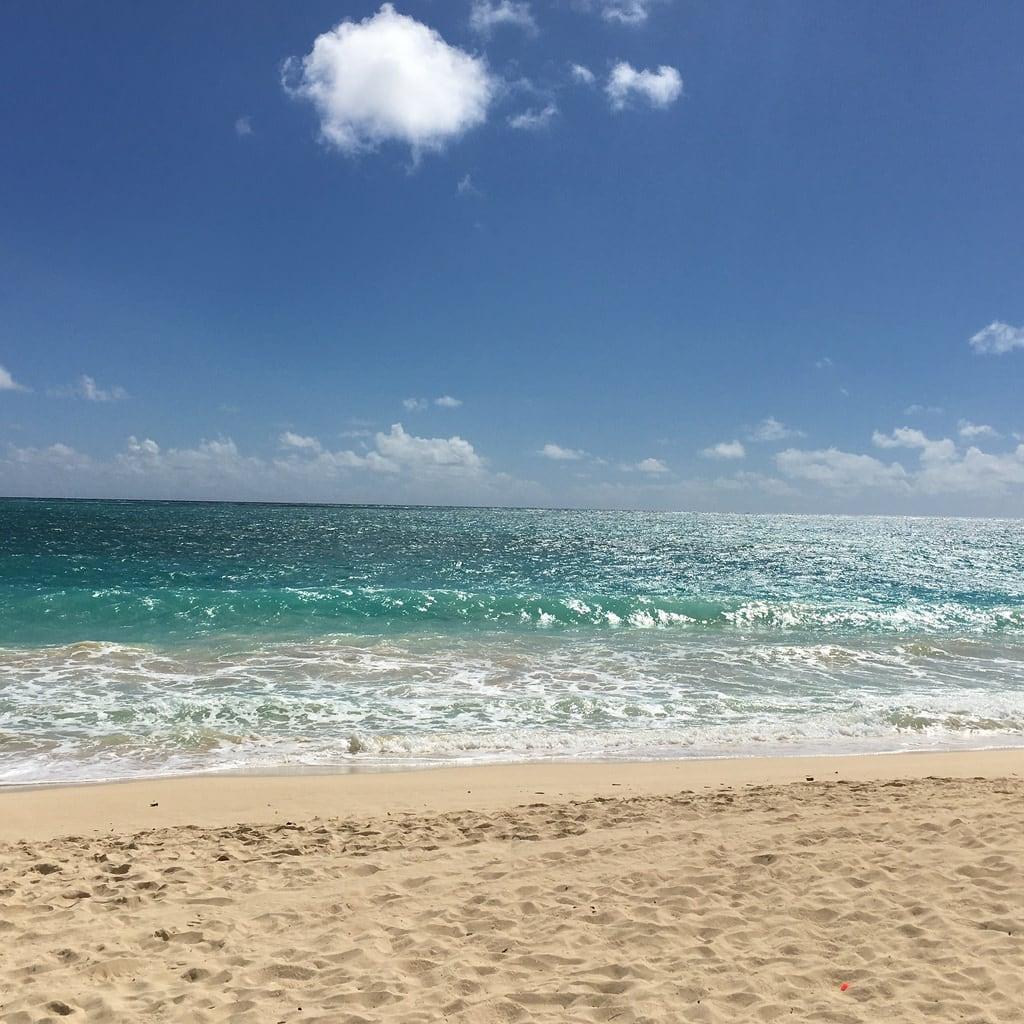 Bilde av Waimanalo Beach. hawaii 2016 oahu waimanalobeach