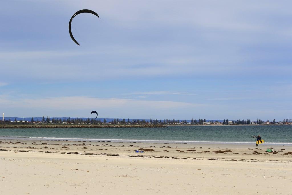 Obraz Plaża o długości 1318 m.