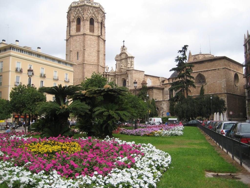 תמונה של Plaza de la Reina. holiday valencia spain cathedral plazadelareina saintmaryofvalenciacathedral