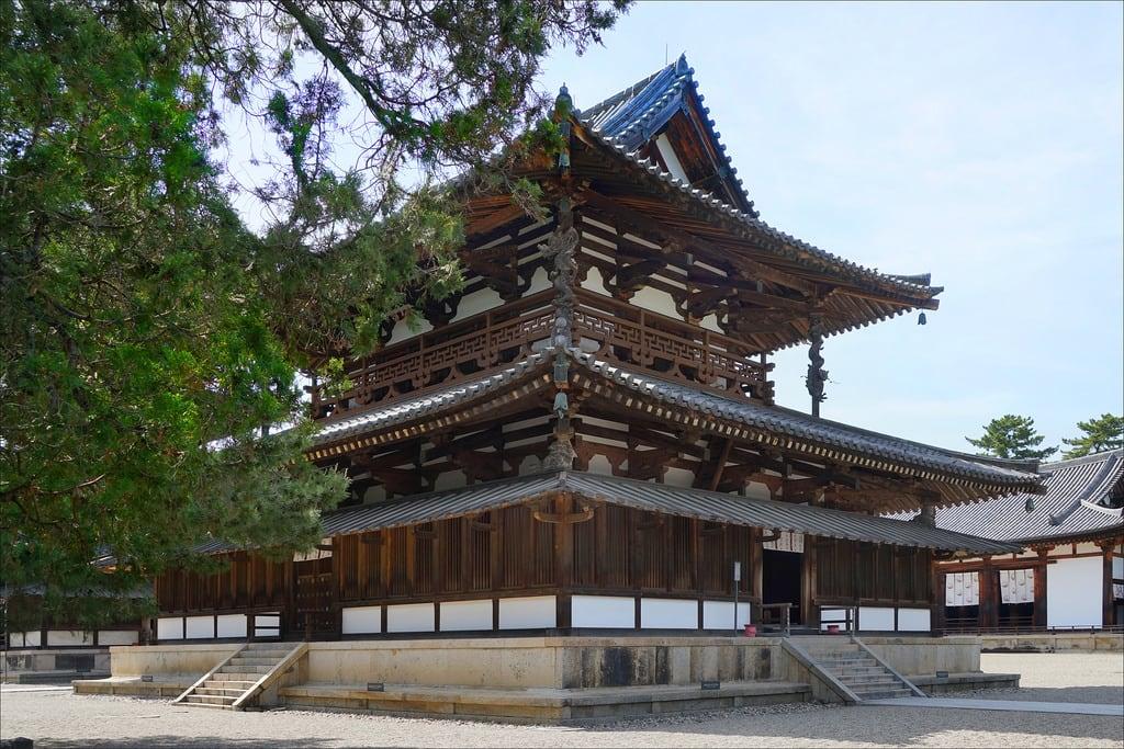 Horyu-ji Temple 的形象. templebouddhique horyuji ikaruga japon dalbera bouddhisme pagode