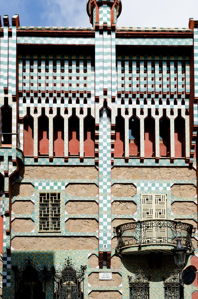 Image of Casa Vicens. antoniogaudiworks barcelona casavicens catalonia spain cataluã±a es