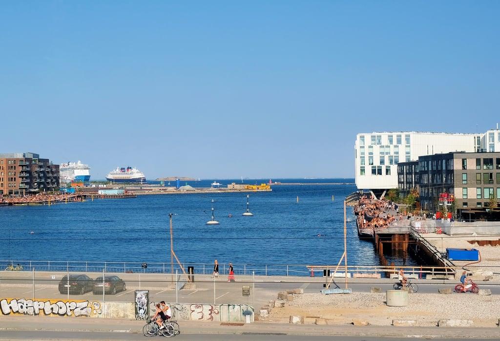 Image of Svanemølle Strand. copenhagen denmark cruiseship beach portofcopenhagen un nordhavn swimming capitalregionofdenmark dk dscf1014