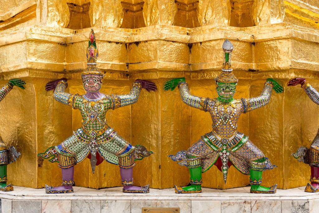 תמונה של מקדש בודהה האמרלד. bangkok thailand krungthepmahanakhon th templeoftheemeraldbuddha watprhakaew temple wat
