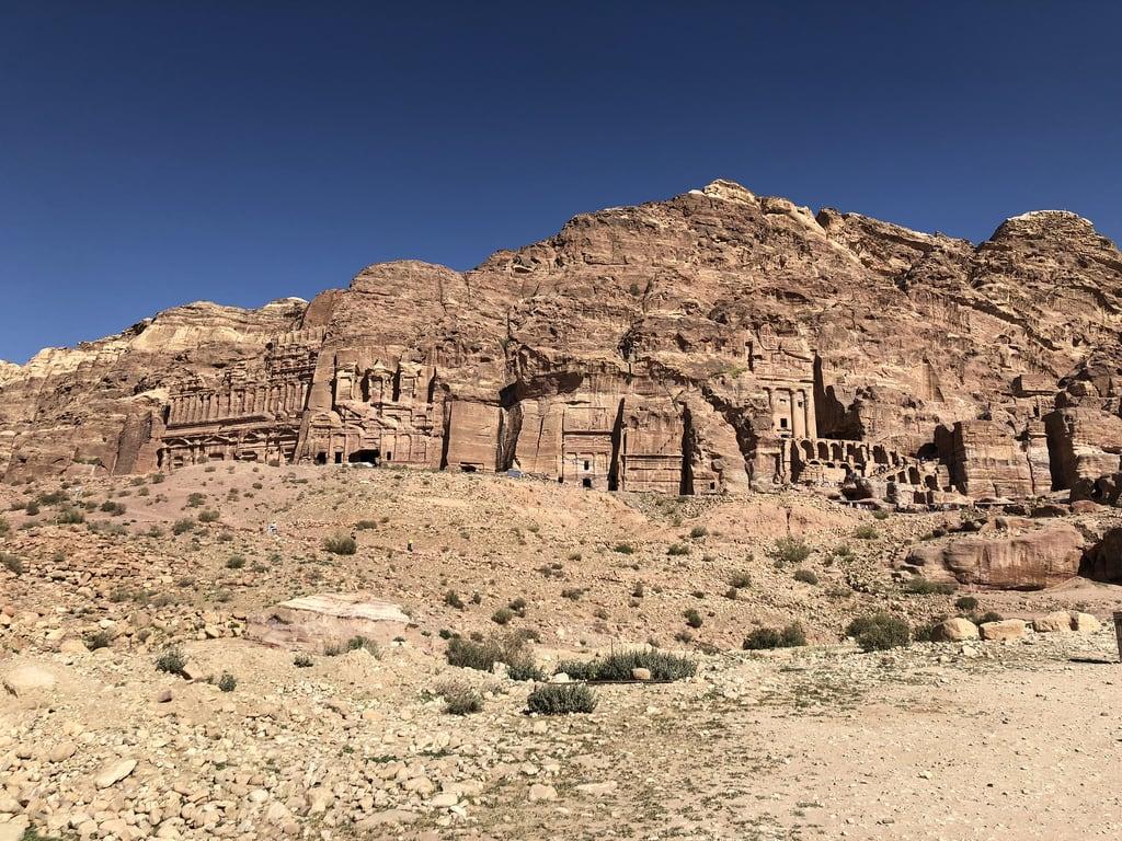 Kuva Petra. jordan petra royaltombs