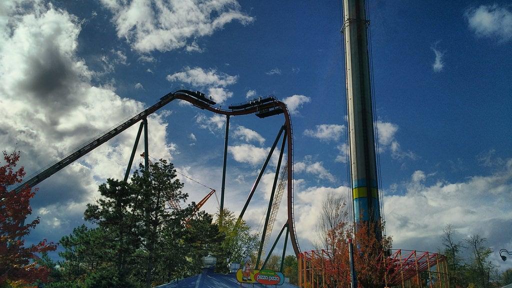Obrázek Windseeker (Canada's Wonderland). yukonstriker canadaswonderland rollercoaster windseeker