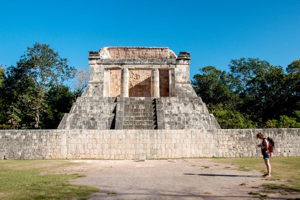 תמונה של Chichen Itzá ליד San Felipe Nuevo. 2017 mexico yucatan january winter mayan chichenitza ruins mexique estadosunidosmexicanos templonorte mexiko 墨西哥