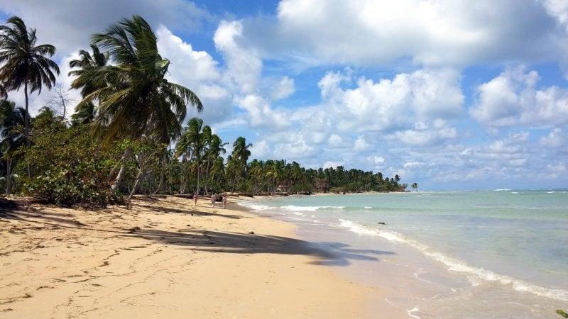 Imagen de Samana Playa con una longitud de 415 metros.