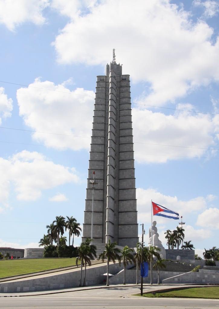 Image of José Martí Memorial near Havana. havana cuba revolution plazadelarevolucion hisgett