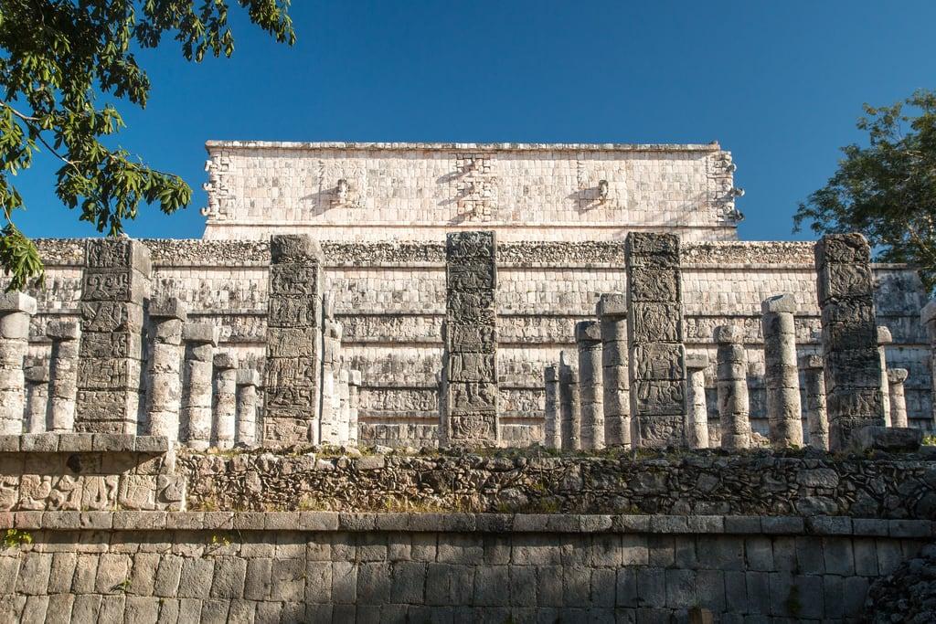 תמונה של Chichen Itzá ליד San Felipe Nuevo. 2017 mexico yucatan january winter mayan chichenitza ruins mexique estadosunidosmexicanos templeofthewarriors thousandcolumns mexiko 墨西哥
