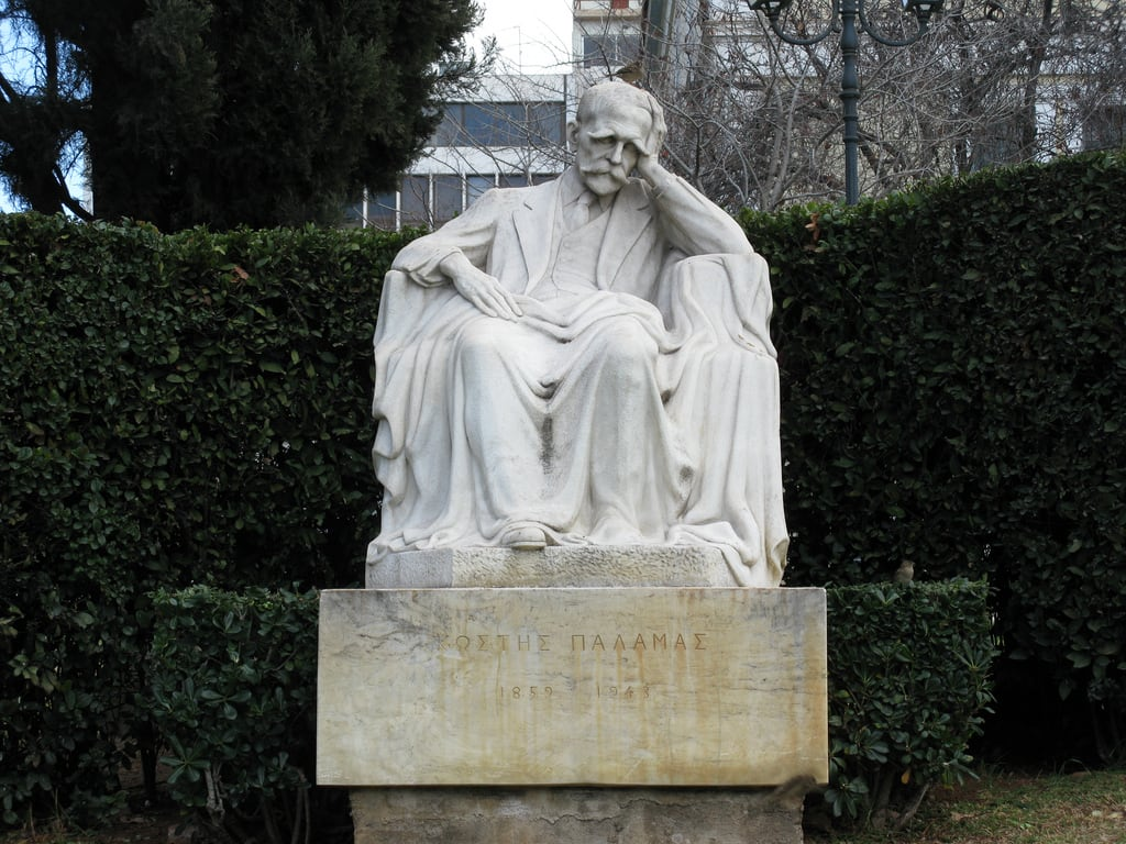 Image of Kostis Palamas. statue hellas athens greece poet 100views 50views ελλάδα kostis palamas αθήνα άγαλμα κωστήσ παλαμάσ dvdphotos11 address:city=athens ποιητήσ address:country=greece