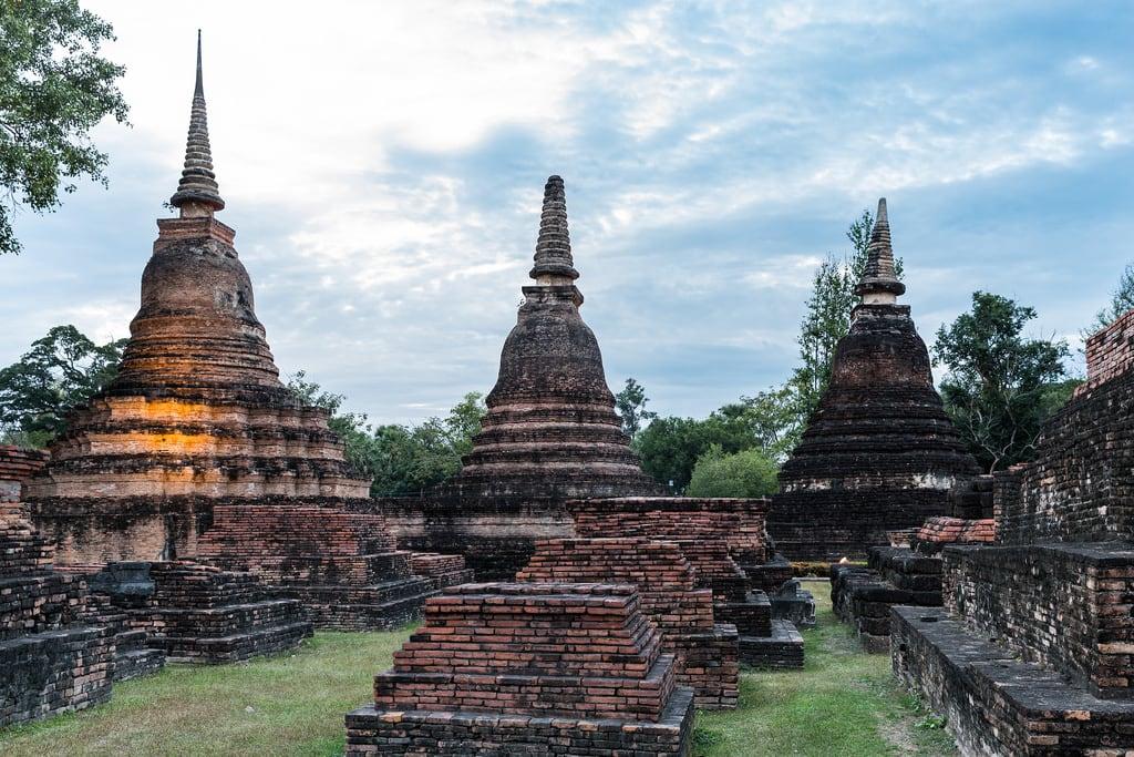 Image of Sukhothai Historical Park near Ban Na. sukhothaihistoricalpark wat sukhothai temple