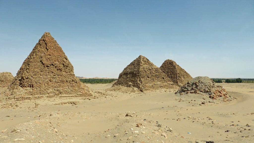 Image of Nuri Pyramids. sudan northernsudan nuri pyramids nubia year2017
