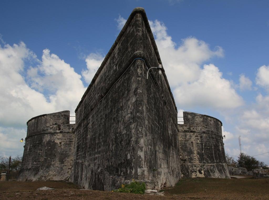 Image of Fort Fincastle near Nassau.