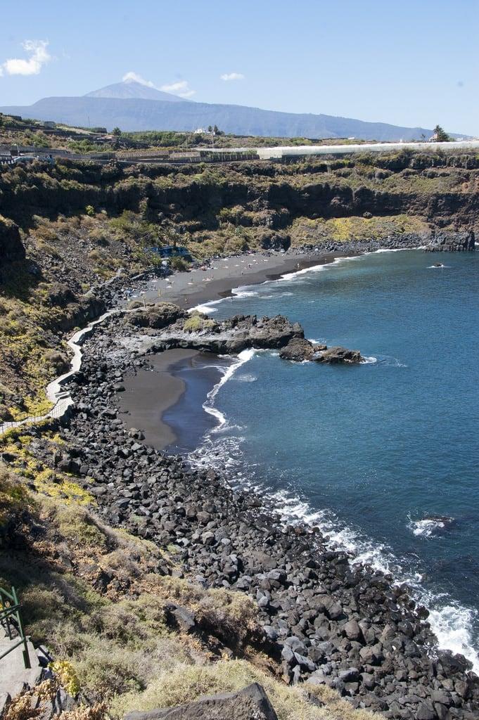 Playa Bollullo görüntü. puertodelacruz tenerife playabollullo