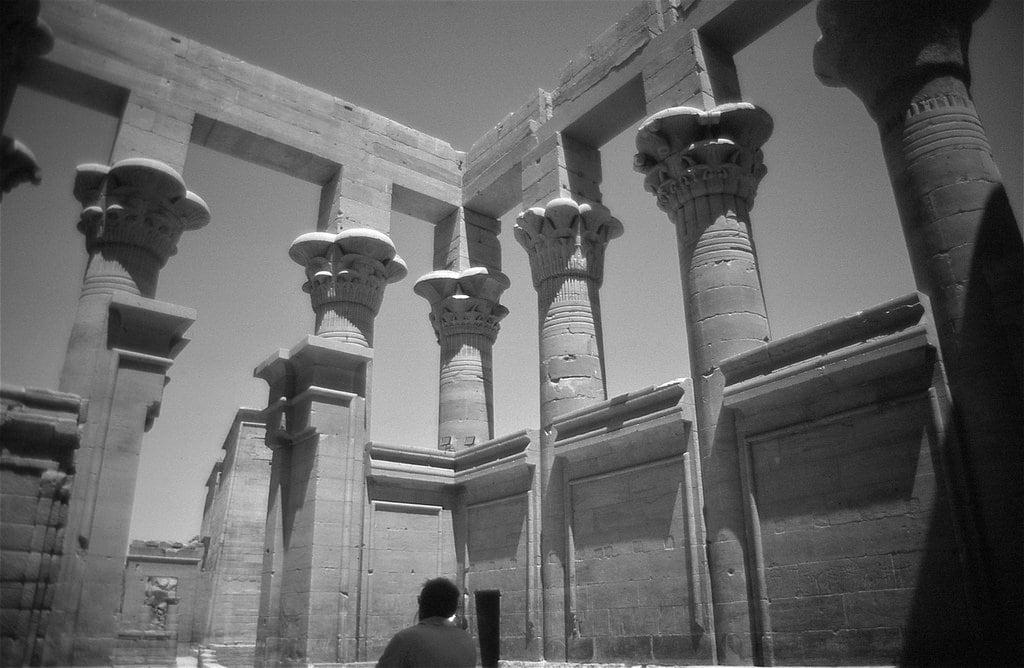 Изображение на Philae Temple. philae agilkia aswan egypt trajanskiosk temple