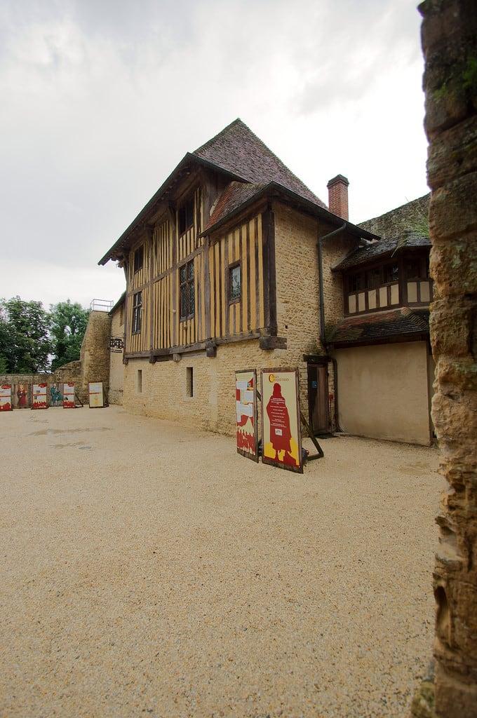 Bild von Château de Crèvecoeur. chateau crèvecoeurenauge