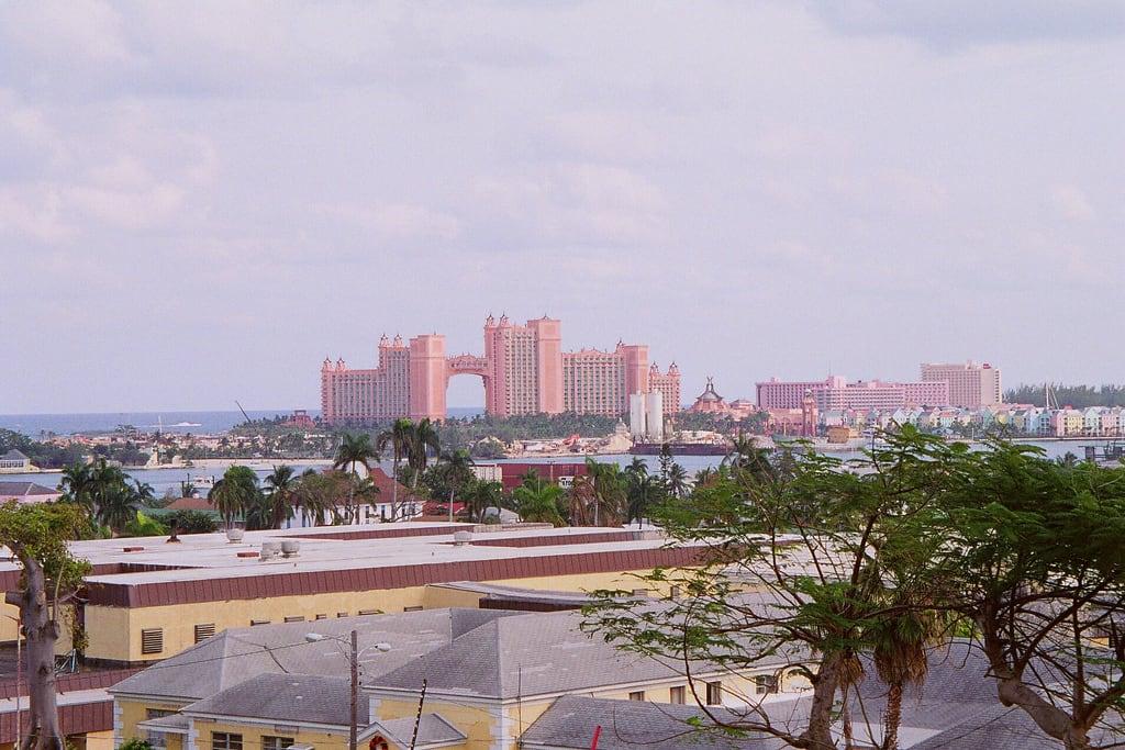Image of Fort Fincastle near Nassau. travel vacation hotels bahamas
